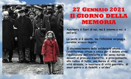 27 GENNAIO 2021 – IL GIORNO DELLA MEMORIA