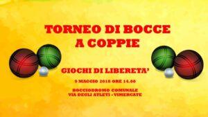 VIMERCATE - GIOCHI DI LIBERETA' 2018 - BOCCE