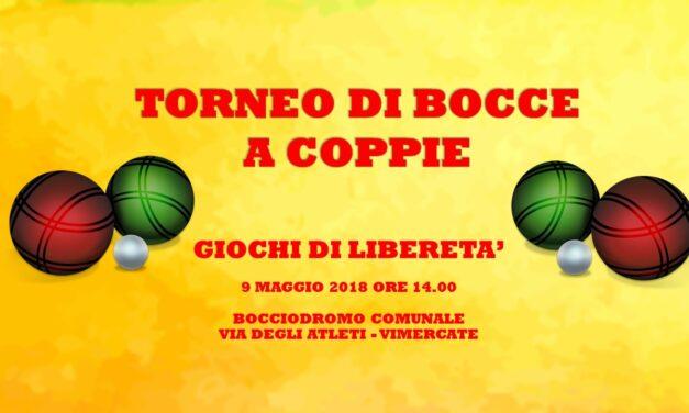 VIMERCATE – GIOCHI DI LIBERETA' 2018 – BOCCE