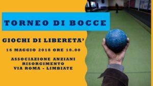 LIMBIATE - GIOCHI DI LIBERETA' 2018 - BOCCE