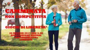 LIMBIATE - GIOCHI DI LIBERETA' 2017 - CAMMINATA