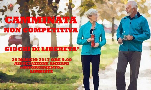 LIMBIATE – GIOCHI DI LIBERETA' 2017 – CAMMINATA