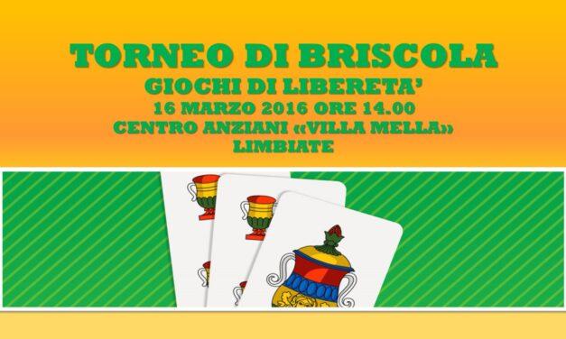 LIMBIATE – GIOCHI DI LIBERETA' 2016 – BRISCOLA