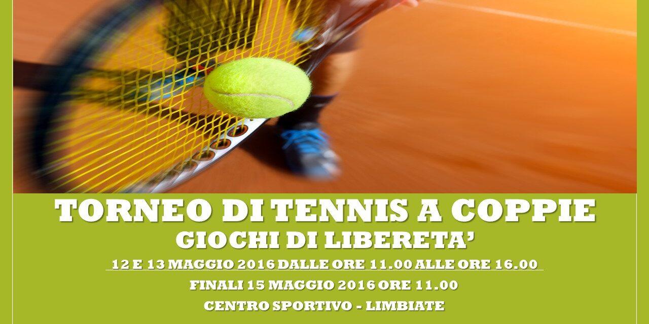 LIMBIATE – GIOCHI DI LIBERETA' 2016 – TENNIS