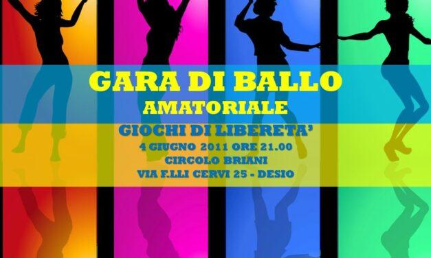DESIO – GIOCHI DI LIBERETA' 2011 – BALLO