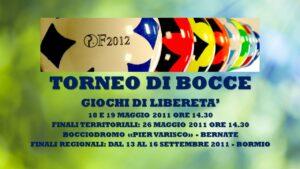 BERNATE - GIOCHI DI LIBERETA' 2011 - BOCCE