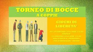 DESIO - GIOCHI DI LIBERETA' 2011 - BOCCE