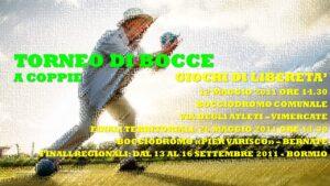 VIMERCATE - GIOCHI DI LIBERETA' 2011 - BOCCE