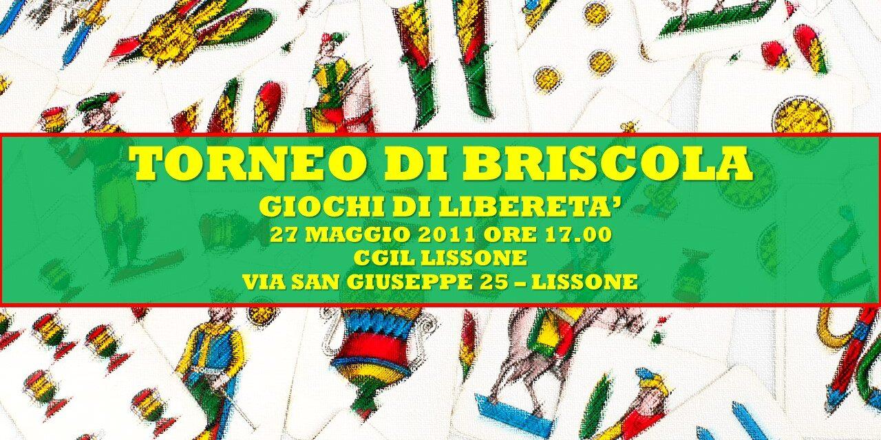 LISSONE – GIOCHI DI LIBERETA' 2011 – BRISCOLA