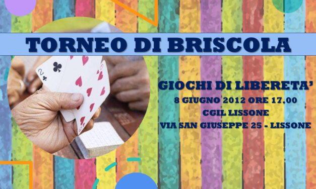 LISSONE – GIOCHI DI LIBERETA' 2012 – BRISCOLA