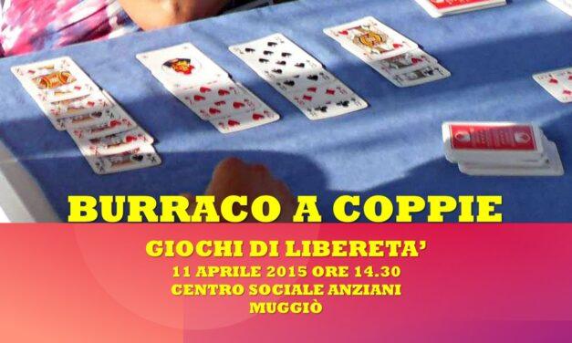 MUGGIO' – GIOCHI DI LIBERETA' 2015 – BURRACO