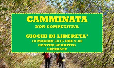 LIMBIATE – GIOCHI DI LIBERETA' 2015 – CAMMINATA