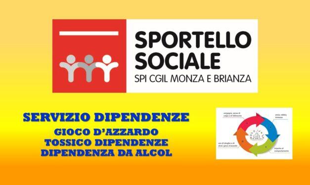 SPORTELLO SOCIALE – SERVIZIO DIPENDENZE