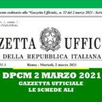 COVID-19: DPCM 2 MARZO 2021
