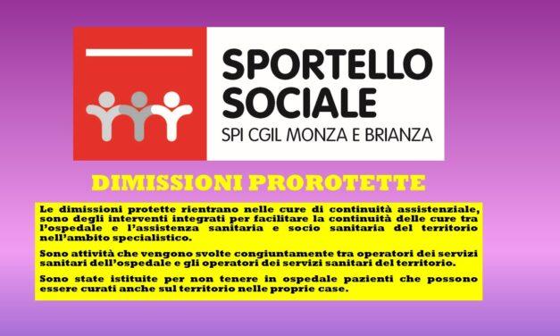 SPORTELLO SOCIALE – LE DIMISSIONI PROTETTE