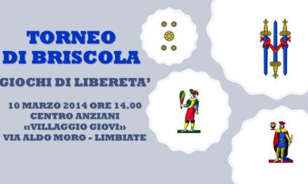 LIMBIATE – GIOCHI DI LIBERETA' 2014 – BRISCOLA