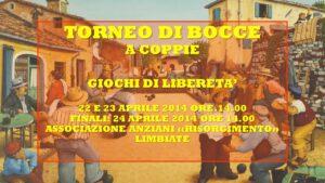 LIMBIATE - GIOCHI DI LIBERETA' 2014 - BOCCE