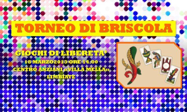 LIMBIATE – GIOCHI DI LIBERETA' 2013 – BRISCOLA