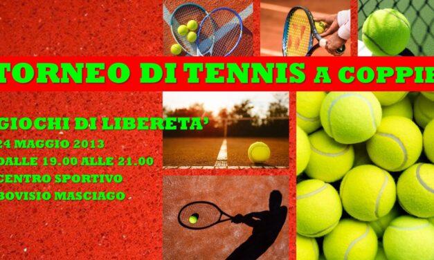 BOVISIO MASCIAGO – GIOCHI DI LIBERETA' 2013 – TENNIS