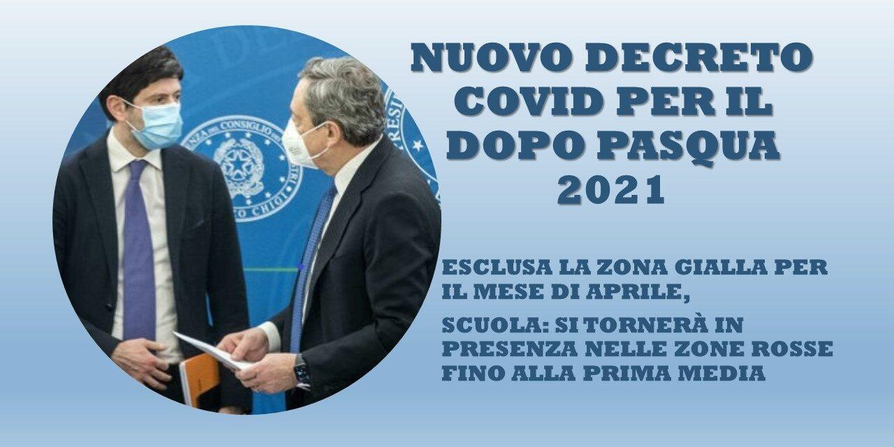 COVID – DECRETO 31 MARZO 2021