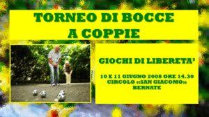 ARCORE - GIOCHI DI LIBERETA' 2008 - BOCCE