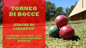 ARCORE BERNATE - GIOCHI DI LIBERETA' 2007 - BOCCE