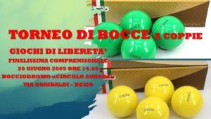 DESIO - GIOCHI DI LIBERETA' 2009 - BOCCE