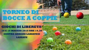 LAZZATE MISINTO COGLIATE - GIOCHI DI LIBERETA' 2010 - BOCCE