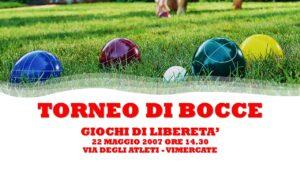 VIMERCATE - GIOCHI DI LIBERETA' 2007 - BOCCE
