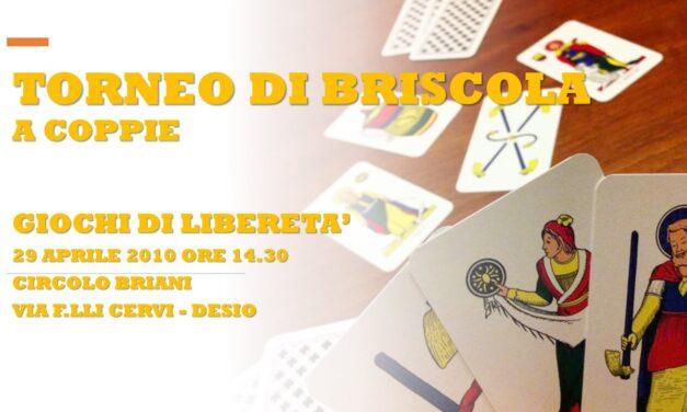 DESIO – GIOCHI DI LIBERETA' 2010 – BRISCOLA