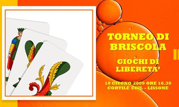 LISSONE – GIOCHI DI LIBERETA' 2009 – BRISCOLA