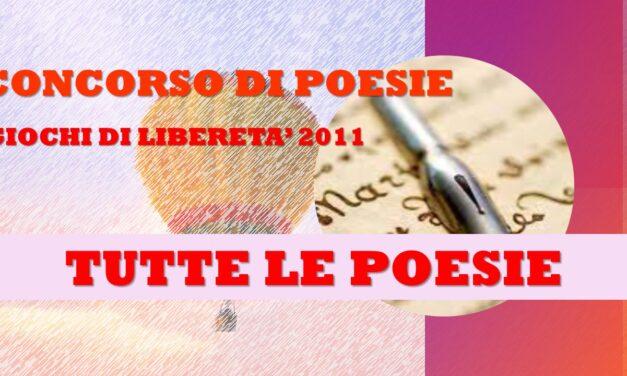 GIOCHI DI LIBERETA' 2011 – POESIA