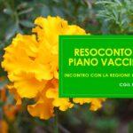 PIANO VACCINALE – RESOCONTO DELL'INCONTRO CON LA REGIONE LOMBARDIA