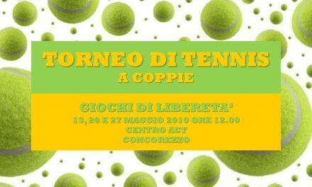 CONCOREZZO – GIOCHI DI LIBERETA' 2010 – TENNIS