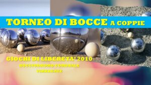 VIMERCATE - GIOCHI DI LIBERETA' 2010 - BOCCE