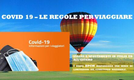 DECRETO VIAGGI – ITALIA ED ESTERO