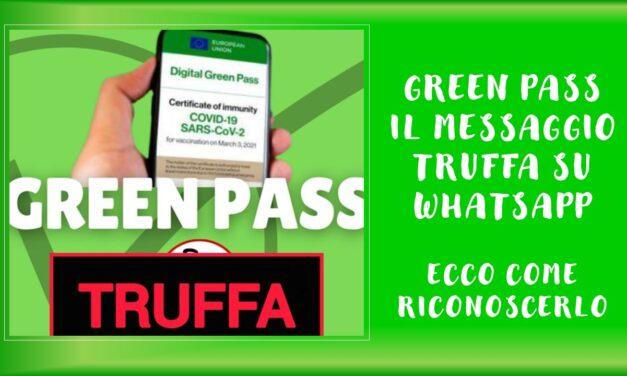 FALSO GREEN PASS – GIUGNO 2021
