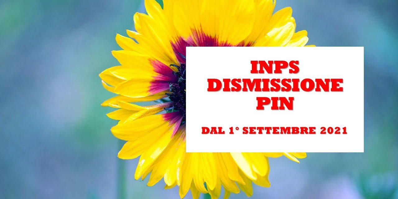 INPS – DISMISSIONE DEL PIN – LE INFORMAZIONI