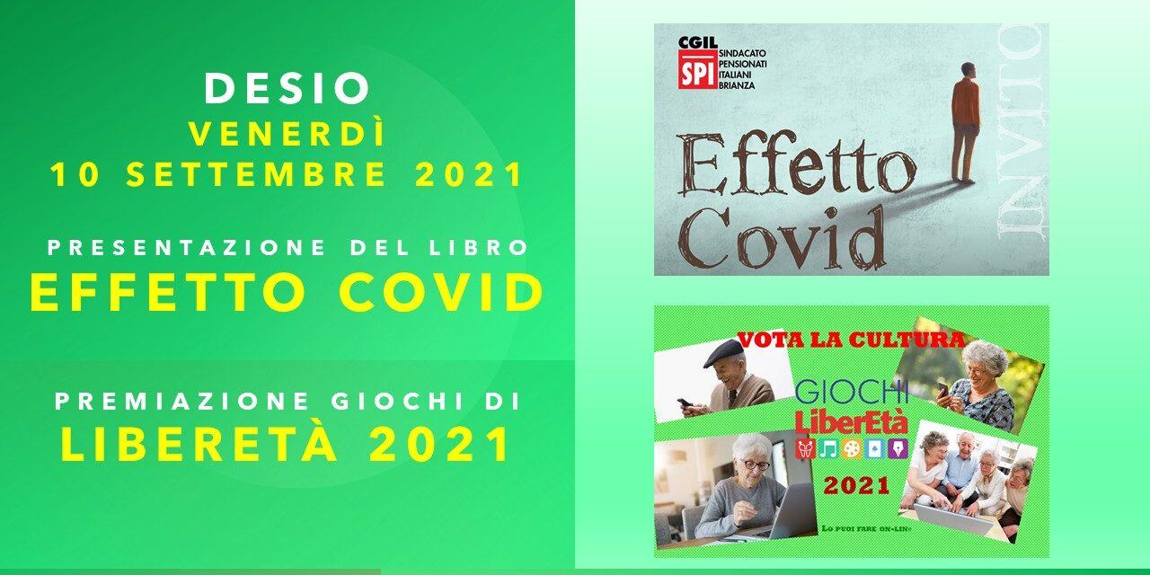 PRESENTAZIONE DEL LIBRO EFFETTO COVID – DESIO 10/09/21