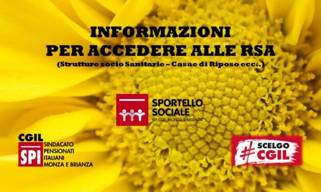 SPORTELLO SOCIALE – GREEN PASS NELLE RSA